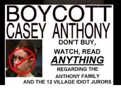 Boycott Casey Anthony Picture