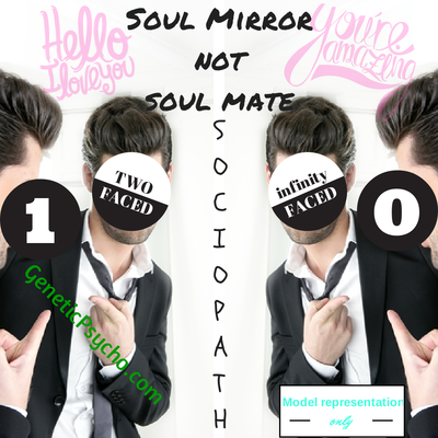Sociopaths/Psychopaths present us with a mirror